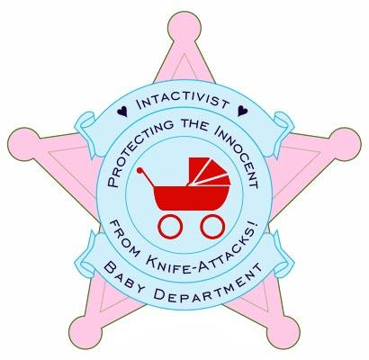 A anti-circ logo of a pink police badge